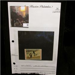 1972 $5 Federal Migratory Bird Hunting Stamp, OG, NH, VF. Scott RW39.