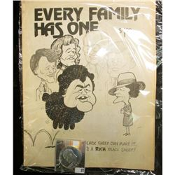 """$1 Priced Collector's Edition Magazine titled """"Every Family Has One or….Even a Black Sheep Can Make"""