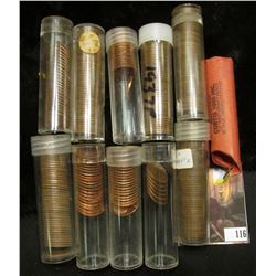 Partial Roll of 1980 P Cents AU-BU; (6) high grade 1954 D Cents; partial roll of 1960 D Large Date C