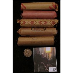 1912 P, 52 S, 53 S, 59 D & a Mixed Roll of U.S. Wheat Cents.