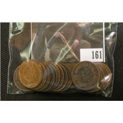 (20) Mixed Date Indian Head Cents grading good or better.