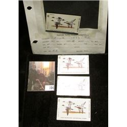 (4) No. 2 Iowa Migratory Waterfowl Stamps from 1973, only one is signed and the owner of this estate