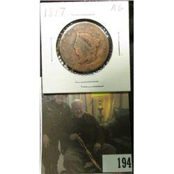 1817 U.S. Large Cent, AG.