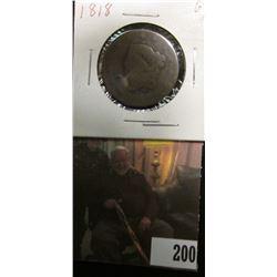 1818 U.S.. Large Cent, Good.
