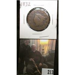 1832 U.S.. Large Cent, Good.