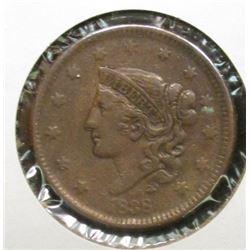 1838 U.S. Large Cent, VG.