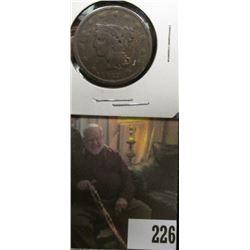1842 U.S.. Large Cent, Good.