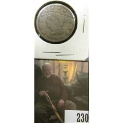 1843 U.S.. Large Cent, Good.