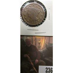 1847 U.S.. Large Cent, Good.