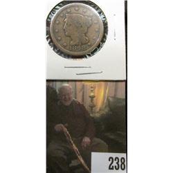 1848 U.S.. Large Cent, Good.