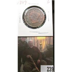 1849 U.S.. Large Cent, Good.