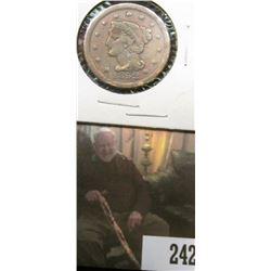 1852 U.S.. Large Cent, Good.