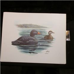 "10.5 x 13"" 1987 Fleetwood Print of an original Painting by Donald Balke, born 1933. Don traveled to"