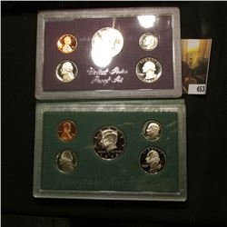 1985 S & 98 S U.S. Proof Set. Original as issued.