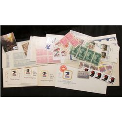 "1971 First Day of Issue Inaugurating the United States Postal Service envelope; (5) envelopes ""Unite"
