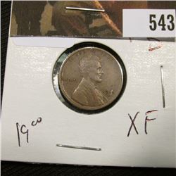 1-1915 D Lincoln Cent XF