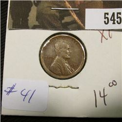 1-1916 D Lincoln Cent XF