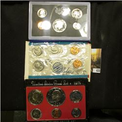 1970 S Silver & 1973 S U.S. Proof Sets, Original as issued. The 1970 S Kennedy Half is very nicely C