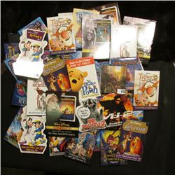 (47) Various Walt Disney Movie Pin-backs representing various movies.
