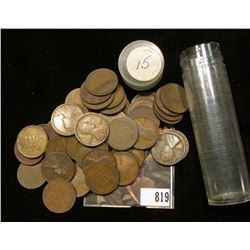 1915 P Solid date Lincoln Cent Roll (53) Pieces.