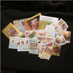 (85) Mint 1984 Laos Stamps, Souvenir Sheets, and etc. from Mystic Stamp Co.