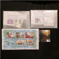 Socialist Republic of Vietnam 1991-92 (111) Stamps originally sold by the Mystic Stamp Co., Camden,