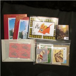Small Group of large denomination Marshall Islands Stamps in mint condition & 85 Mint Stamps & 6 Sou