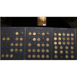 1917-45 Partial Set of Mercury Dimes in a  Shore Line Coin Collection  folder. (62 pcs.)