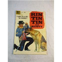 Rin Tin Tin and Rusty Dell Comic 1958 No. 26