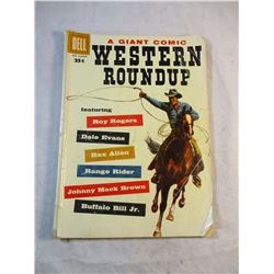 Western Round Up A Giant Comic Dell 1958