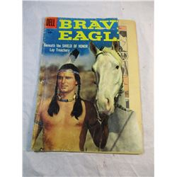 Brave Eagle No. 770 1957 Dell Comic