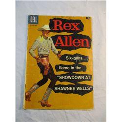 Rex Allen March-May Dell Comic 1958 No. 28