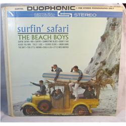 The Beach Boys Surfin Safari Vintage LP Vinyl Record