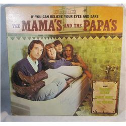 Vintage the Mama's and the Papa's If You Can Believe Your Eyes and Ears LP Vinyl Record