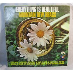 Mountain Dew Brass Everything Is Beautiful Vintage LP Vinyl Record