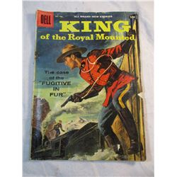 King of the Royal Mounted The Case of the Fugitive in Fur Dec-Feb 1958 Comic