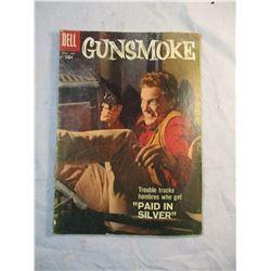 Gunsmoke Paid in Silver Comic Nov-Jan 1958