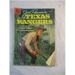 Jace Pearson's Tales of the Texas Rangers Crimson Raiders Dell Comic March-May 1958