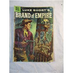 Luke Shorts Brand of Empire Dell Comic No. 771 1956