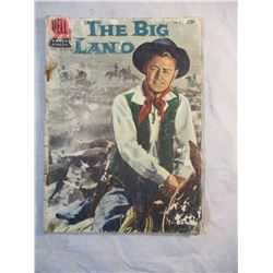 The Big Land Dell Comic 1957 No 812
