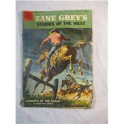 Zane Greys Stories of the West Knights of the Range Dell March-May 1958