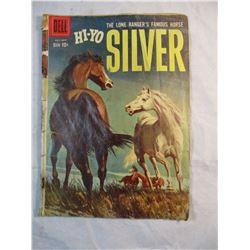 Hi-Yo Silver The Lone Rangers Famous Horse July-Sept 1959