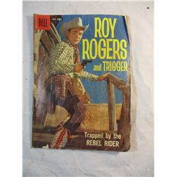 Roy Rogers and Trigger Trapped by the Rebel Rider April 1958