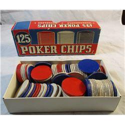 Vintage 1940's-1950's Poker Chips