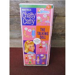 1999 Mattel Classics Chatty Cathy Talking Doll In Original Box Works