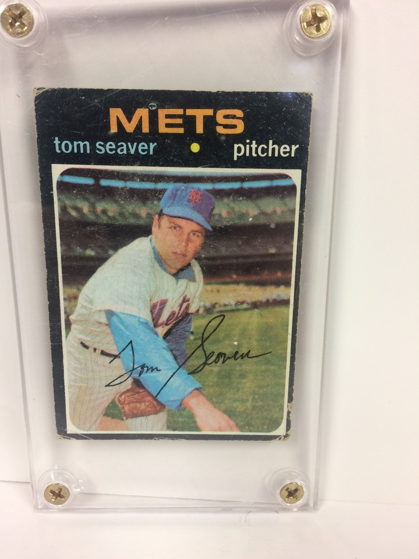Tom Seaver Ny Mets Baseball Card