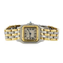 Cartier Two-Tone Panthere Ladies Watch