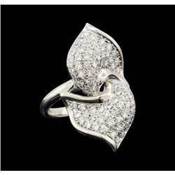 1.33 ctw Diamond Ring - Platinum
