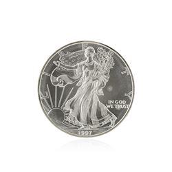 1997 American Silver Eagle Dollar BU Coin
