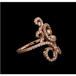 0.70 ctw Diamond Ring - 14KT Rose Gold
